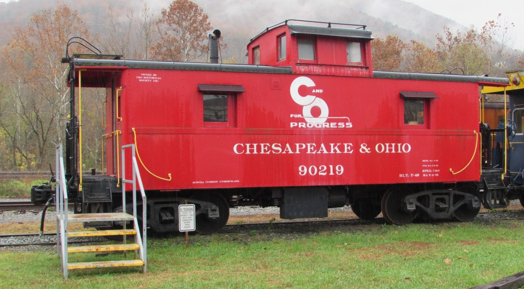 C&O 90219 Caboose Clifton Forge Virginia