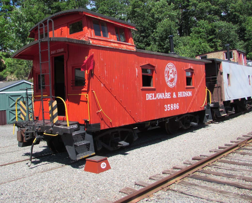 Delaware and Hudson Caboose 35886 Whippany New Jersey