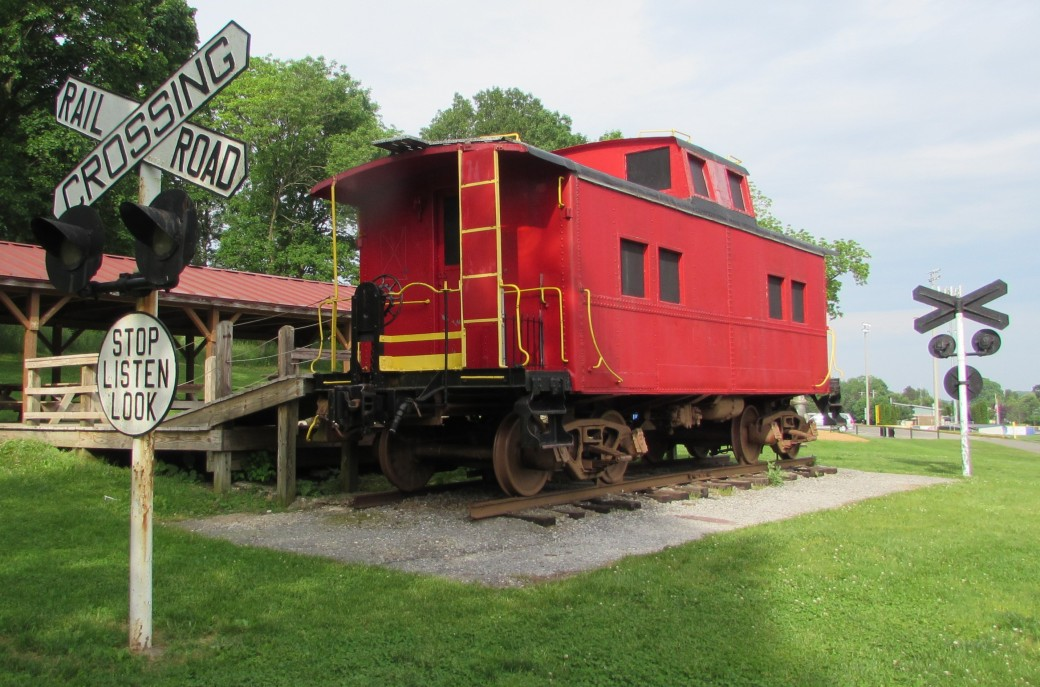Red Caboose Red Caboose Park Wyomissing Pennsylvania