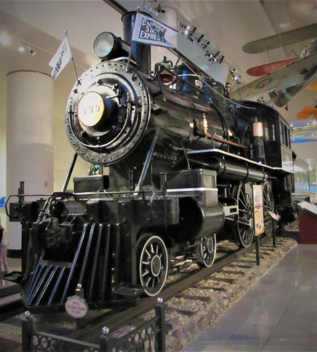 Empire State Express Number 999 Museum of S&I Chicago Illinois