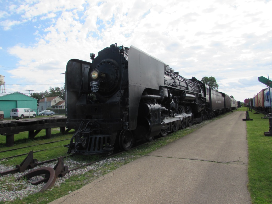New York Central Railroad Number 3001 Elkhart Indiana