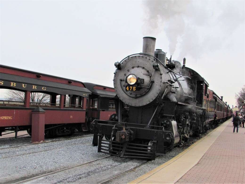Norfolk and Western 475 Strasburg Pennsylvania